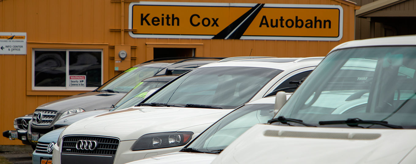 Keith Cox Autobahn Car Sale